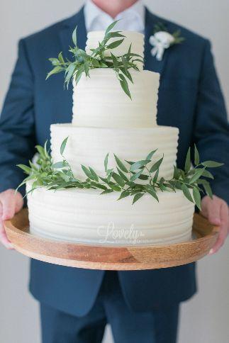 Cake and Greenery