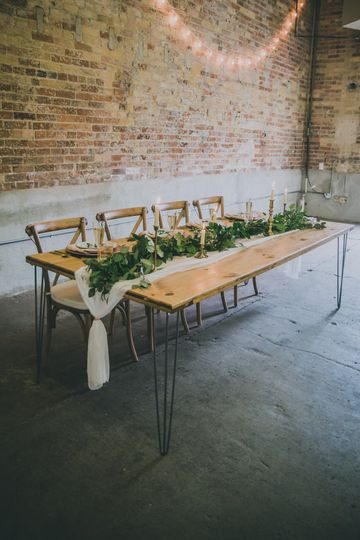 Boho farmhouse tables