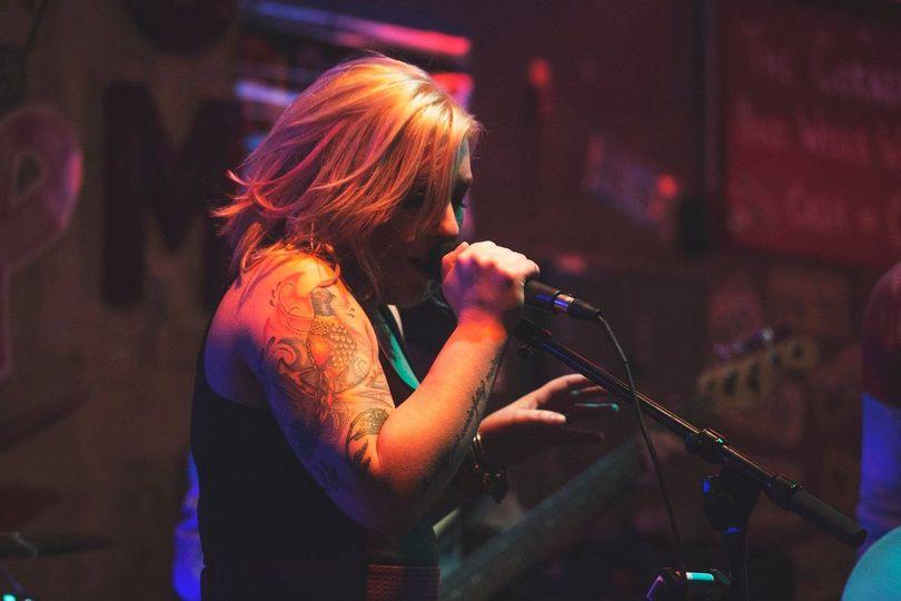 Band vocalist