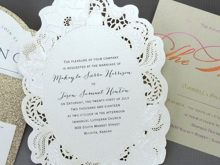 Tmx 1485329455084 Fbcovers20fifteen Buffalo, New York wedding invitation