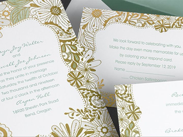 Tmx 1485329891843 Fbcoversthemesdreams17k Buffalo, New York wedding invitation