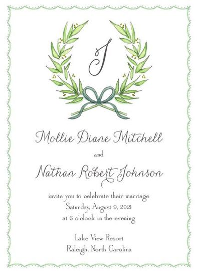 Wedding In vitation