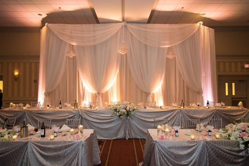 A wedding reception to remember