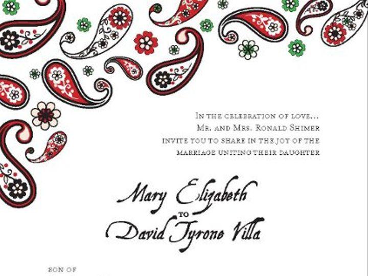 Tmx 1328118958450 WeddingInvite San Diego, CA wedding invitation
