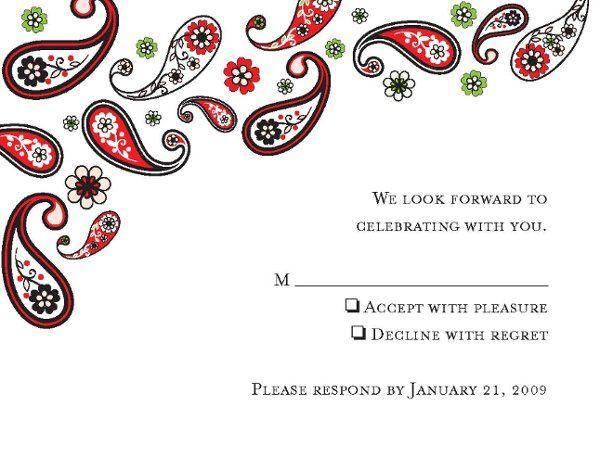 Tmx 1328119000148 WeddingRSVPPage1 San Diego, CA wedding invitation