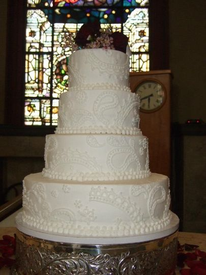 tres belle cakes wedding cake cincinnati oh weddingwire