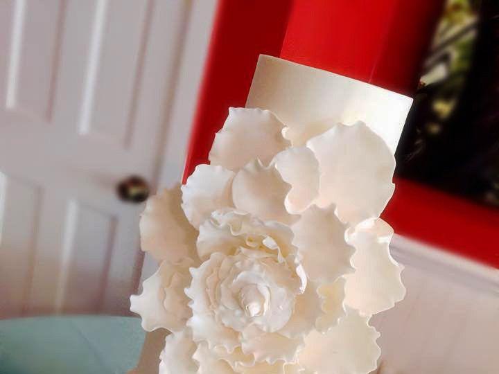 Tmx 1442187587123 Wed1 Fernandina Beach wedding cake