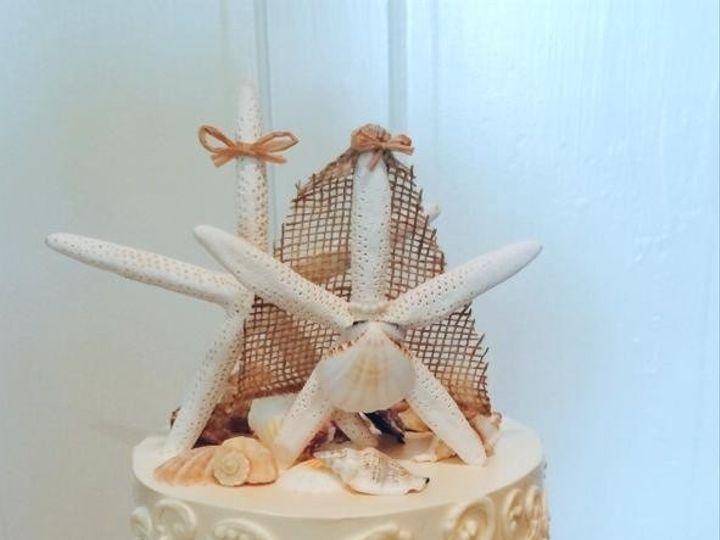 Tmx 1442187625260 Wed6 Fernandina Beach wedding cake