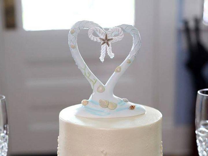 Tmx 1442187632222 Wed7 Fernandina Beach wedding cake