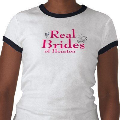 Real brides ringer tee