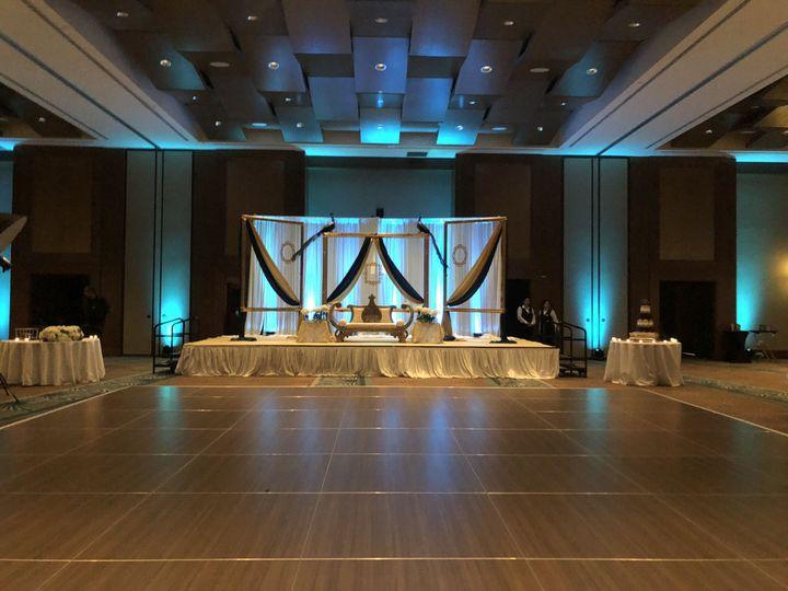 Dance floor all set