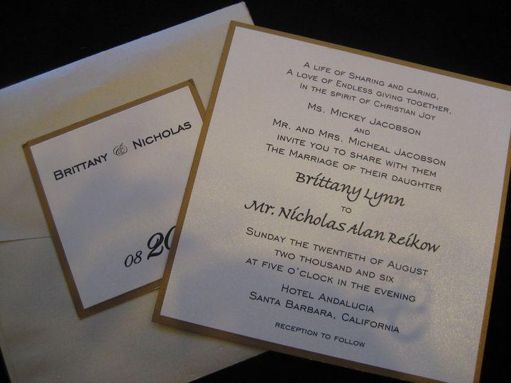 Tmx 1340655323734 Envelopments005 Arroyo Grande wedding invitation