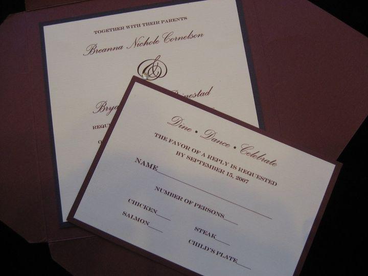 Tmx 1340655421906 Envelopments007 Arroyo Grande wedding invitation