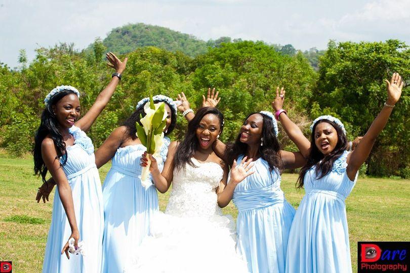 nigerian london wedding in nigeria 9