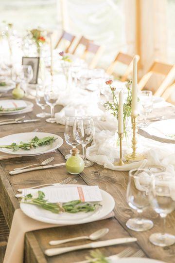 An Organic Mountain Wedding