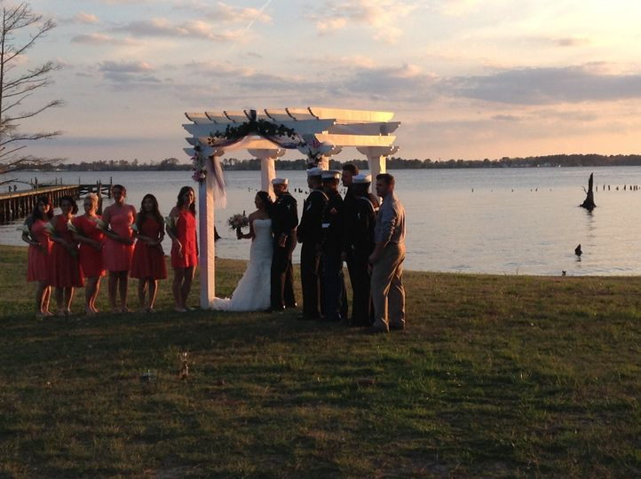 military wedding carteret county