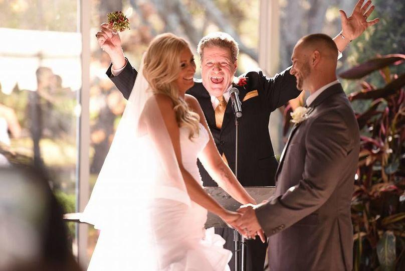 Wedding pronouncement