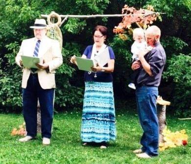 """A """"spiritual"""" ceremony celebrating nature."""