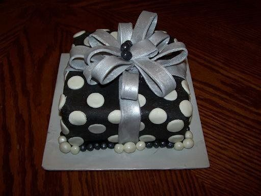 This present is good enough to eat, or to give to the bride to be at a bridal shower. Covered in...