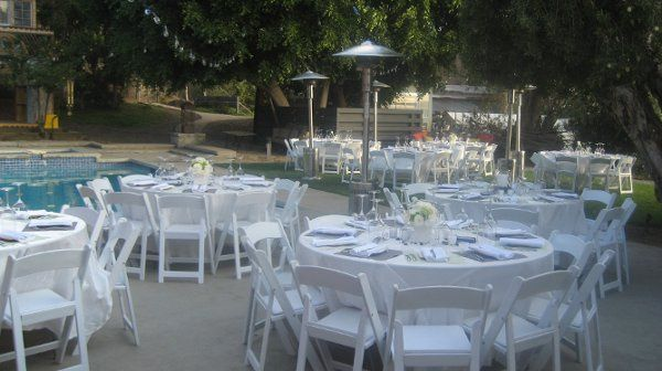 Wedding Reception at Marrakesh House Culver City with Rentals provided by Imperial Party Rentals