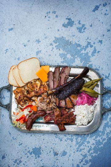 A full platter