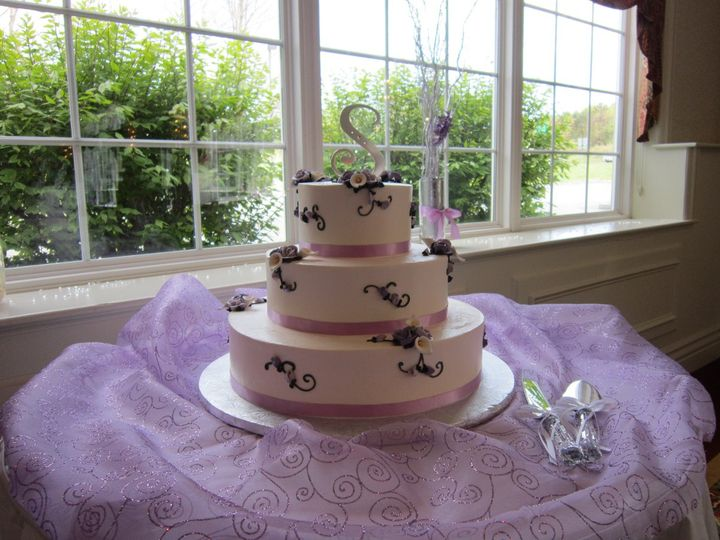 Tmx 1347894966227 IMG0400 Castleton On Hudson wedding cake
