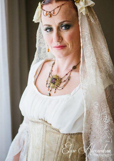 victorian pirate wedding 7