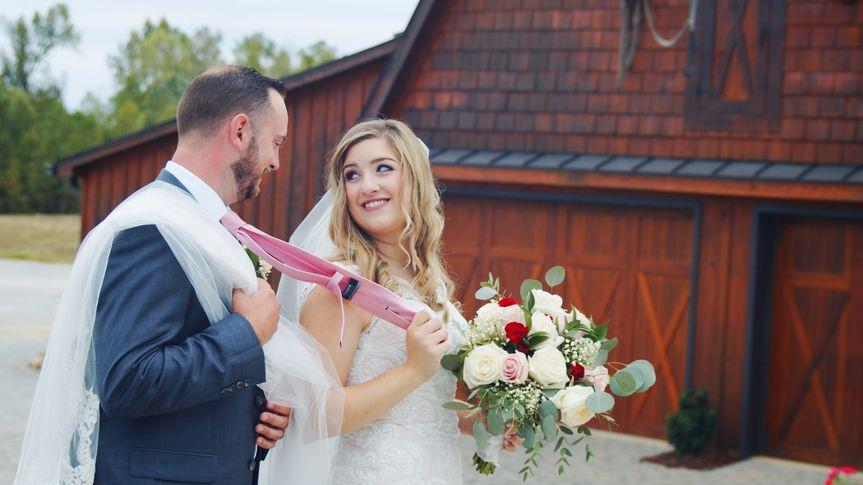 Barn Outdoor Wedding