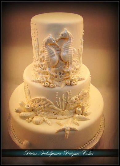 Divine Indulgences Designer Cakes - Wedding Cake - Jacksonville, FL ...