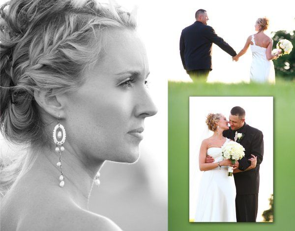 When doing Bride-Groom portraits it is important to find as many angles and crops as possible.