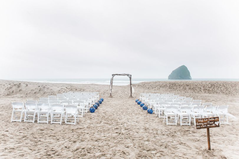 Beach Ceremony at Pelican Brewing - Pacific City on the Oregon Coast Photo by Imago Dei Photography