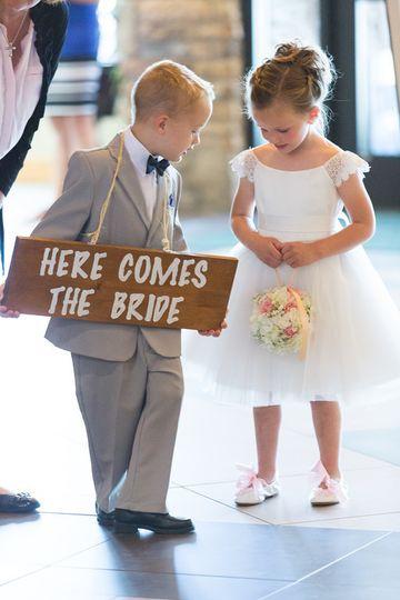 Kids in the wedding