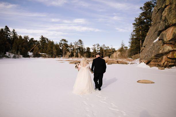 Frozen lake vibes