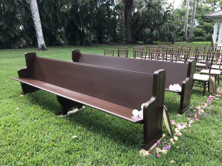 Outdoor chair arrangement