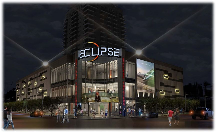 The Beautiful Eclipse Theaters Entertainment Complex