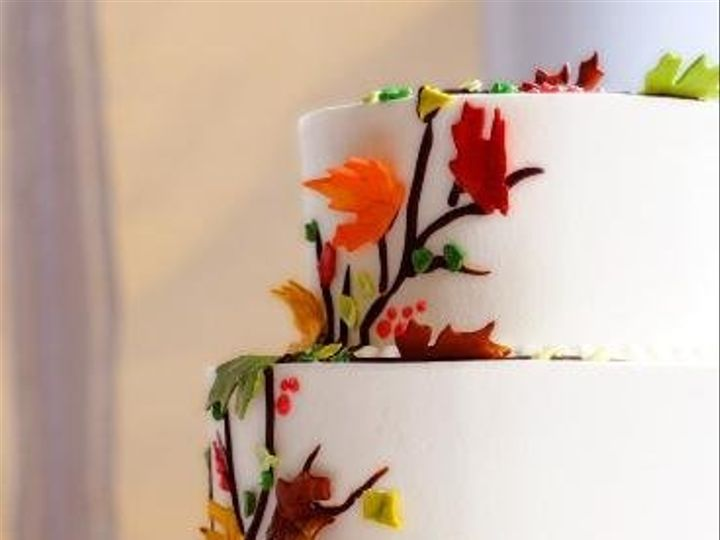 Tmx 1244213051156 Leaves Danvers, MA wedding cake
