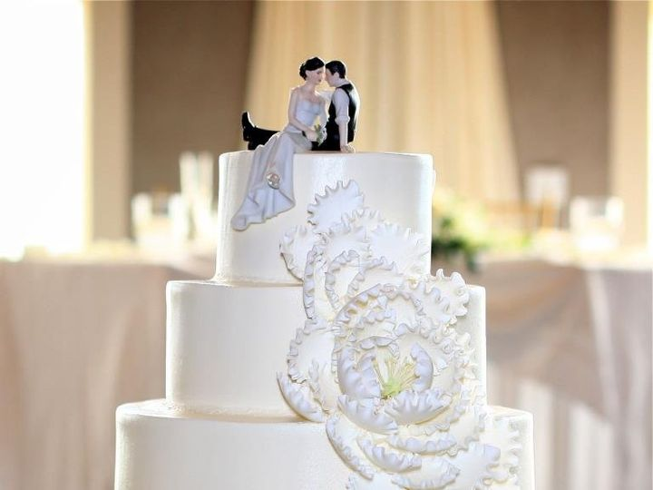 Tmx 1358807528666 Customribbon Danvers wedding cake