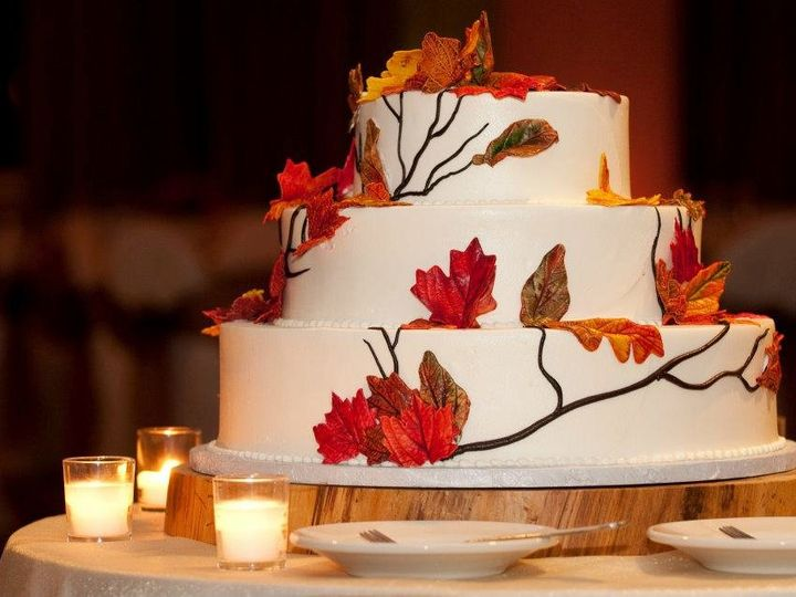 Tmx 1358807539510 Fall Danvers wedding cake