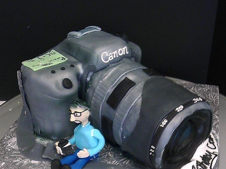 Tmx 1358808648828 CannonCameraCake Danvers, MA wedding cake