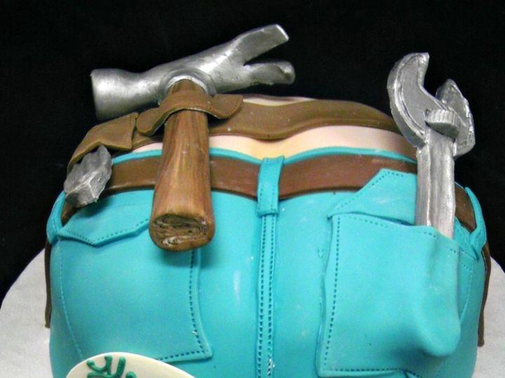 Tmx 1358808833449 PlumbersCrackCakeK Danvers, MA wedding cake