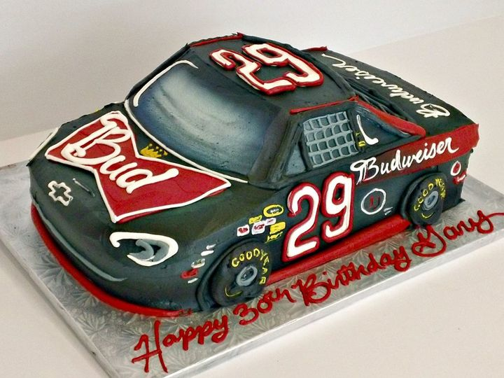 Tmx 1358808835897 BudweiserNascarRaceCarJ Danvers, MA wedding cake