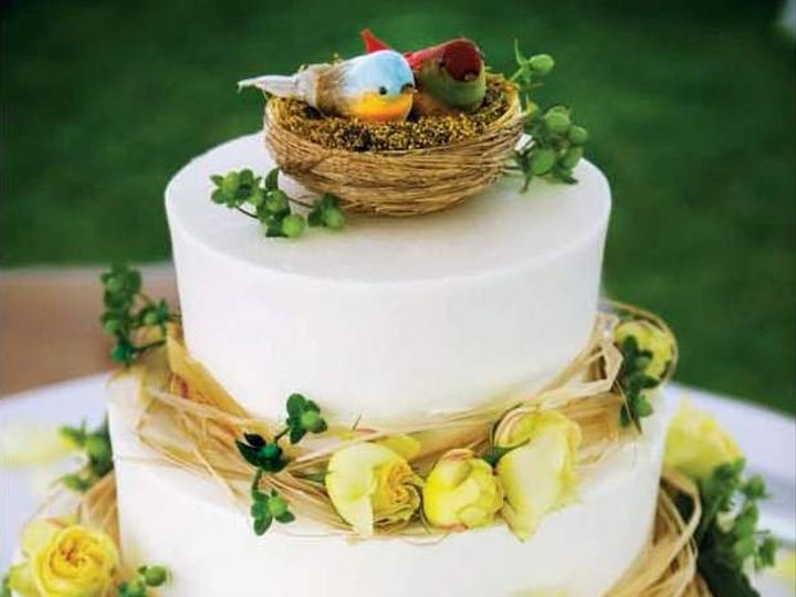 Tmx 1358809454442 KnotVanMikeBirds Danvers wedding cake