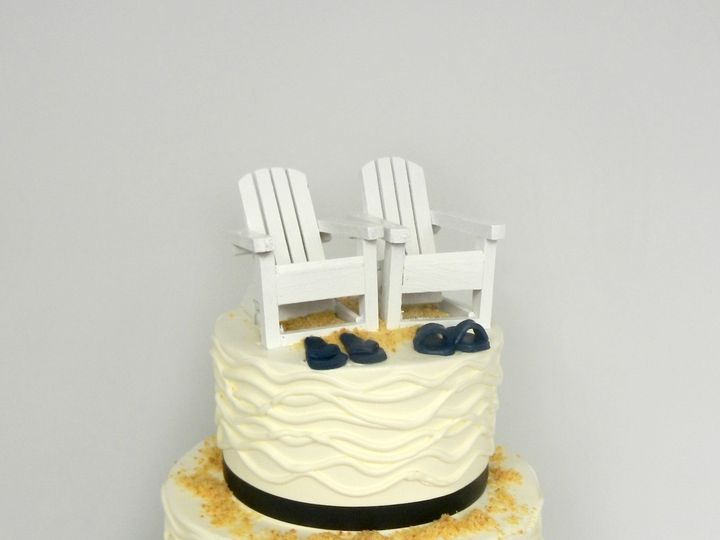 Tmx 1381855277667 Beach Chairs Danvers wedding cake