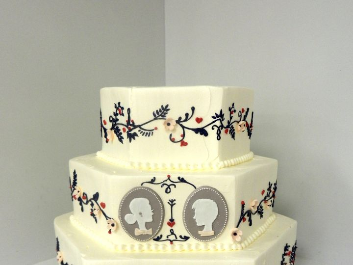 Tmx 1478710947848 Cameo Danvers wedding cake