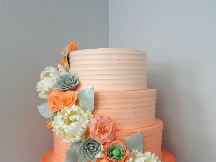 Tmx 1478711046873 Ombre Horizontal Rustic Danvers, MA wedding cake