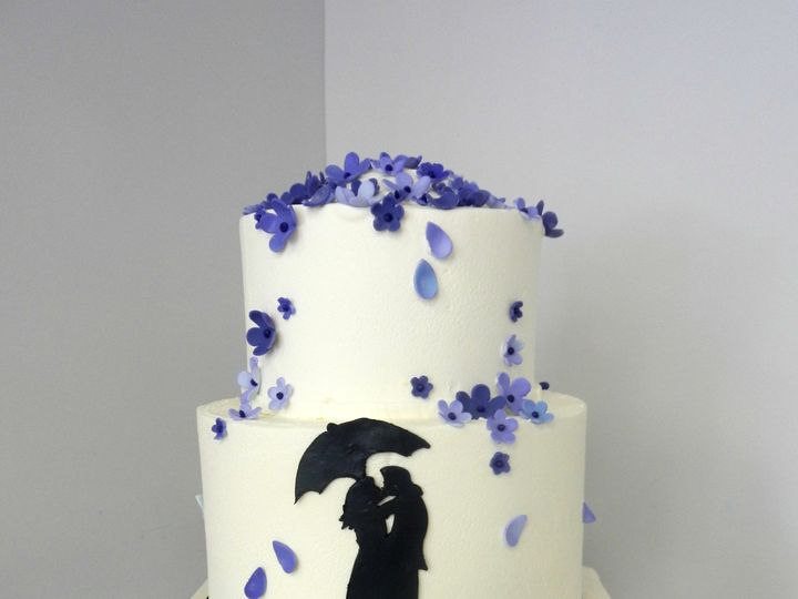 Tmx 1478711062076 Silhouette Danvers, MA wedding cake