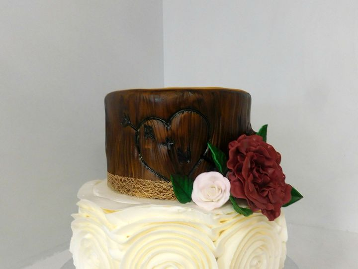 Tmx 1478711444028 Bark And Rosette Danvers wedding cake