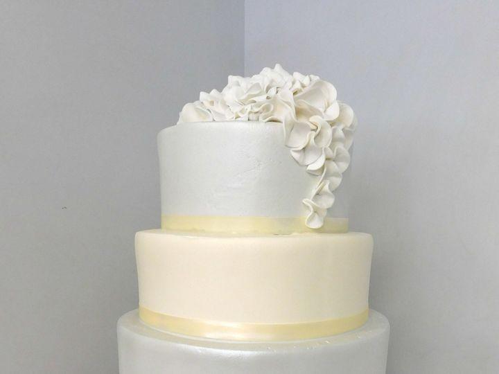 Tmx 1478711505301 Fondant Petals Danvers, MA wedding cake