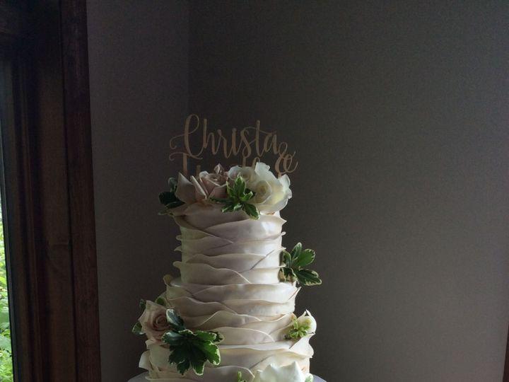 Tmx 1520200574 5d6133843fd3c07a 1520200571 709f3fb9f214d3fa 1520200549602 7 3B75A3D5 F8CE 434A Schenectady, New York wedding cake