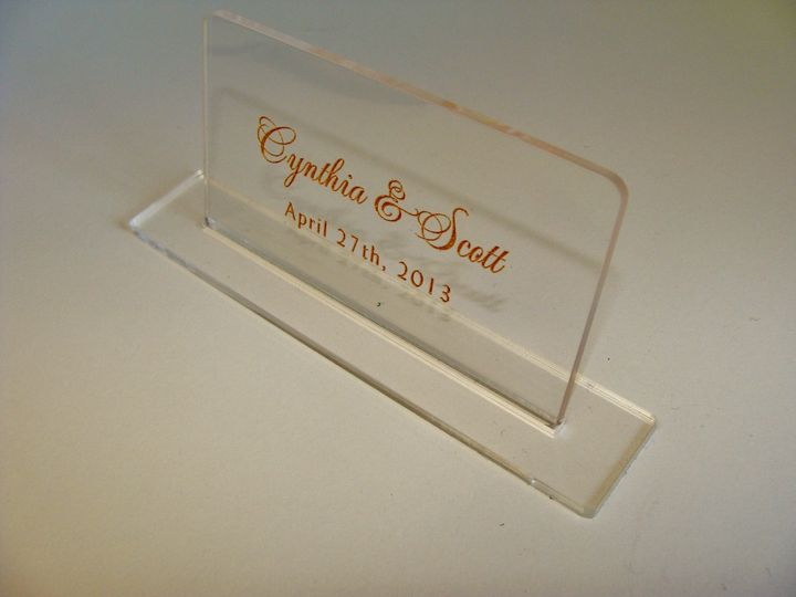 800x800 1366149844781 acrylic placecards in tampa at invitation galleria